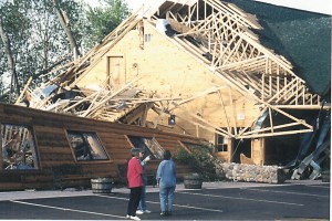 Store rubble - Siren tornado - June 20, 2001 Sentinel