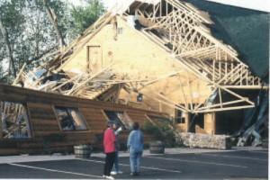Store rubble - Siren tornado - LARGE